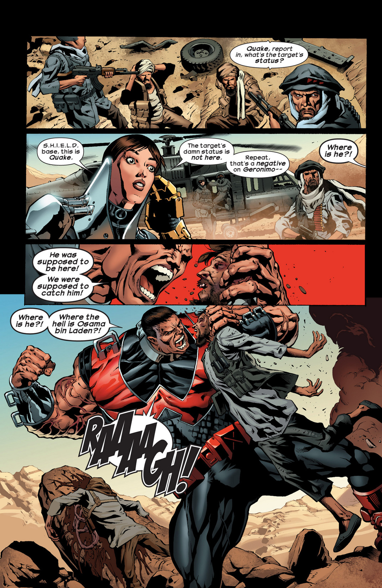 Read online Ultimate Comics Ultimates comic -  Issue #22 - 6
