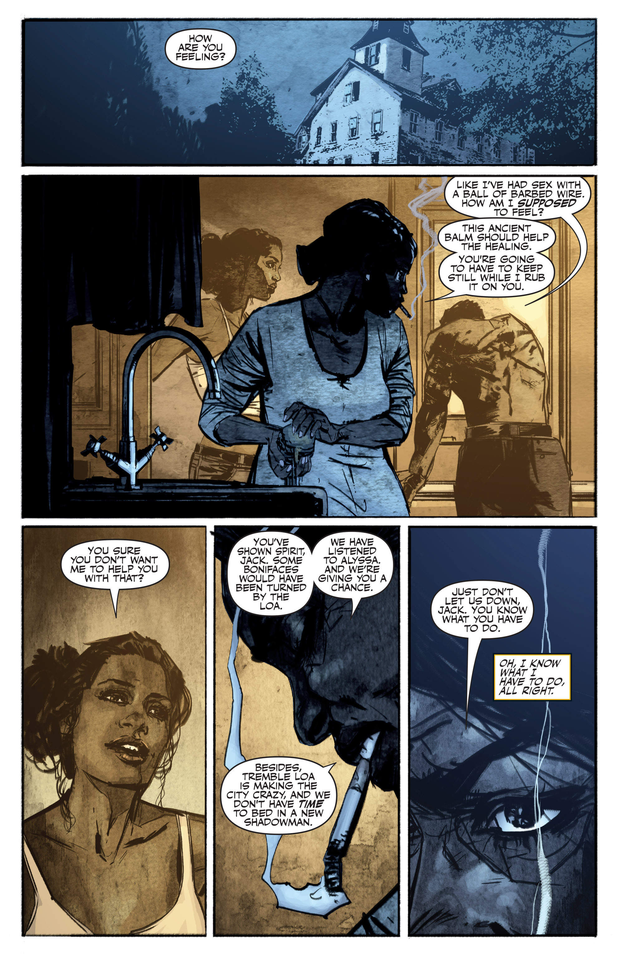 Read online Shadowman (2012) comic -  Issue #16 - 8