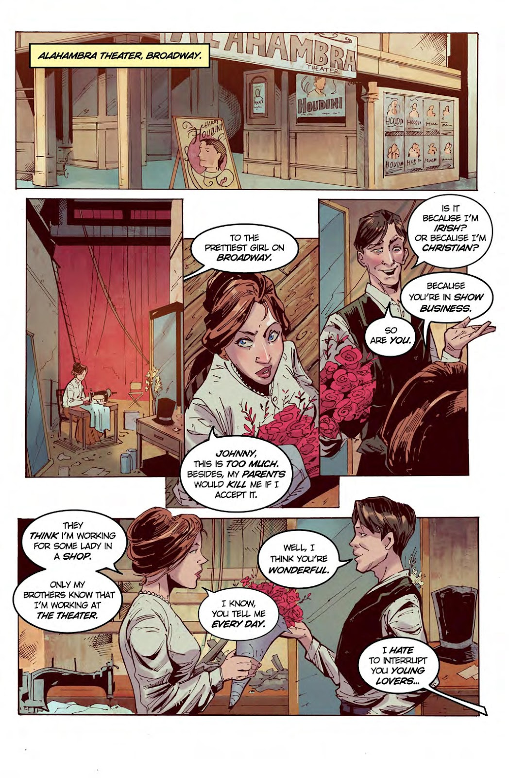 Read online American Dreams comic -  Issue #1 - 9