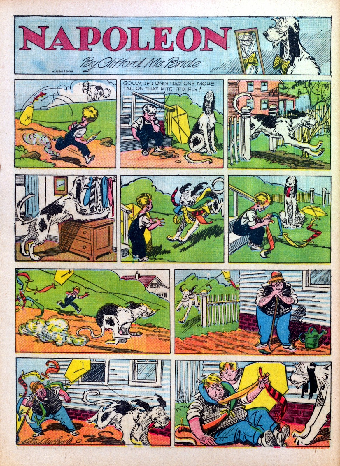 Read online Famous Funnies comic -  Issue #27 - 54