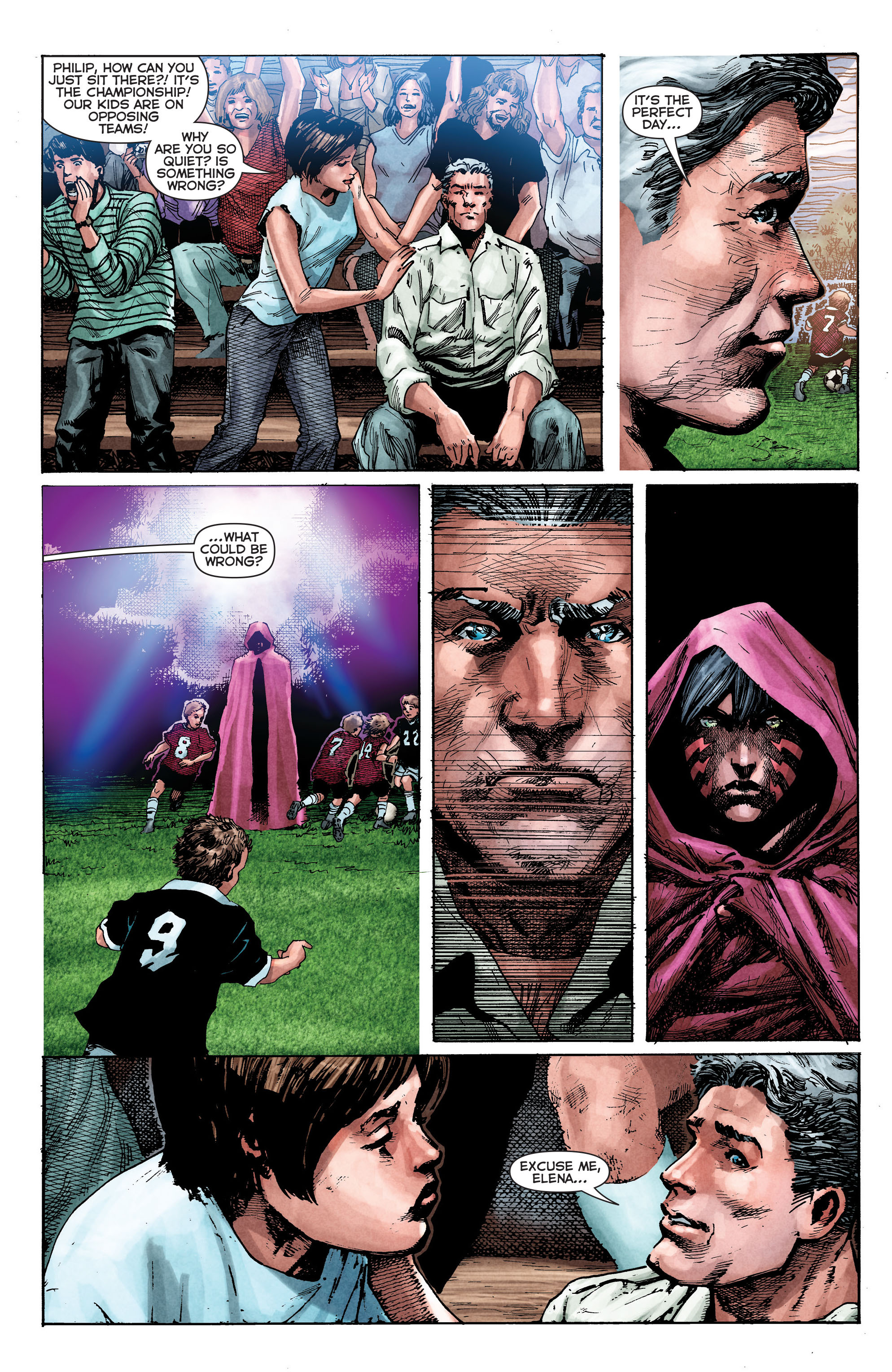 Read online Trinity of Sin: The Phantom Stranger comic -  Issue #2 - 3