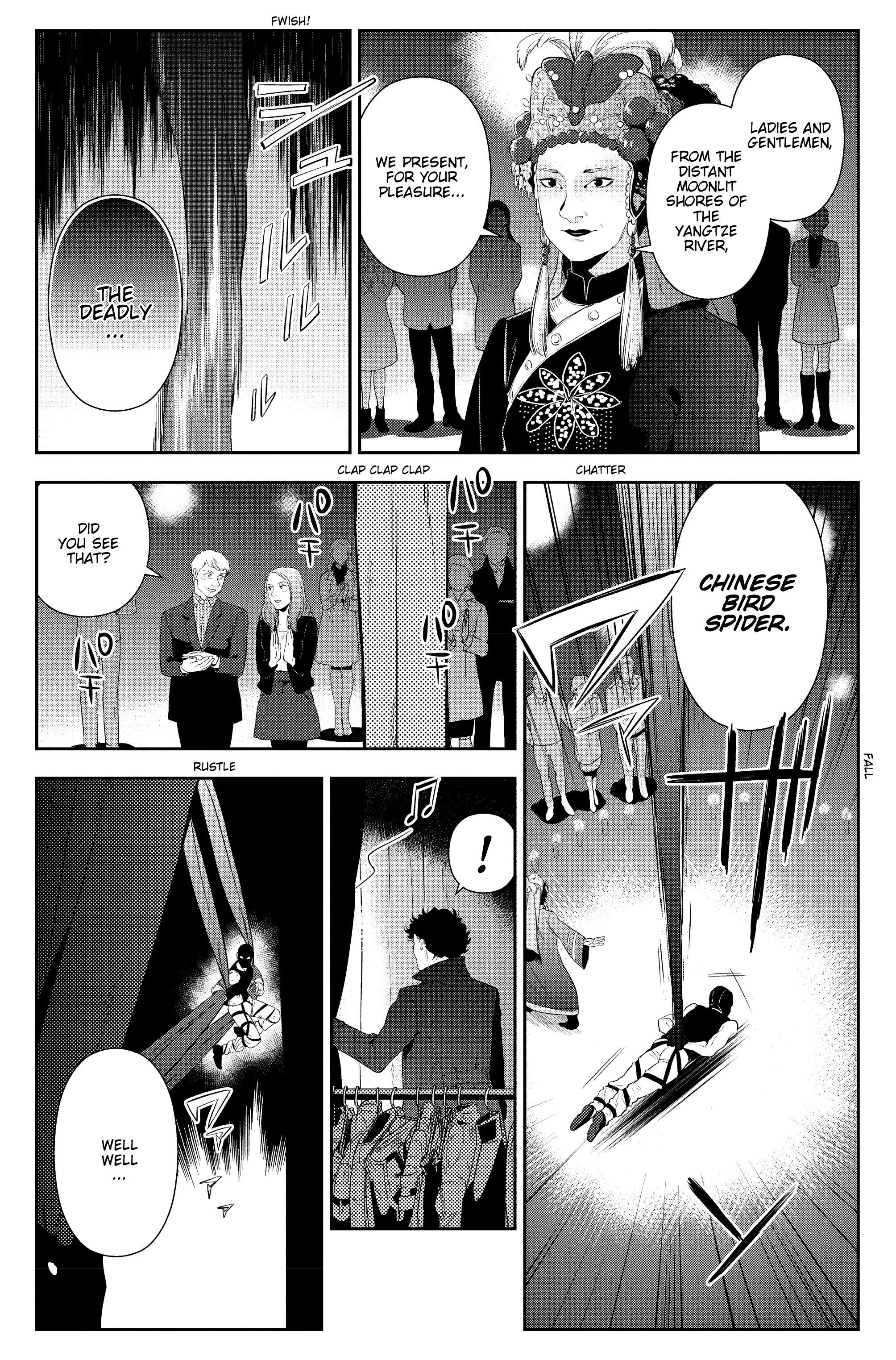 Read online Sherlock: The Blind Banker comic -  Issue #5 - 23