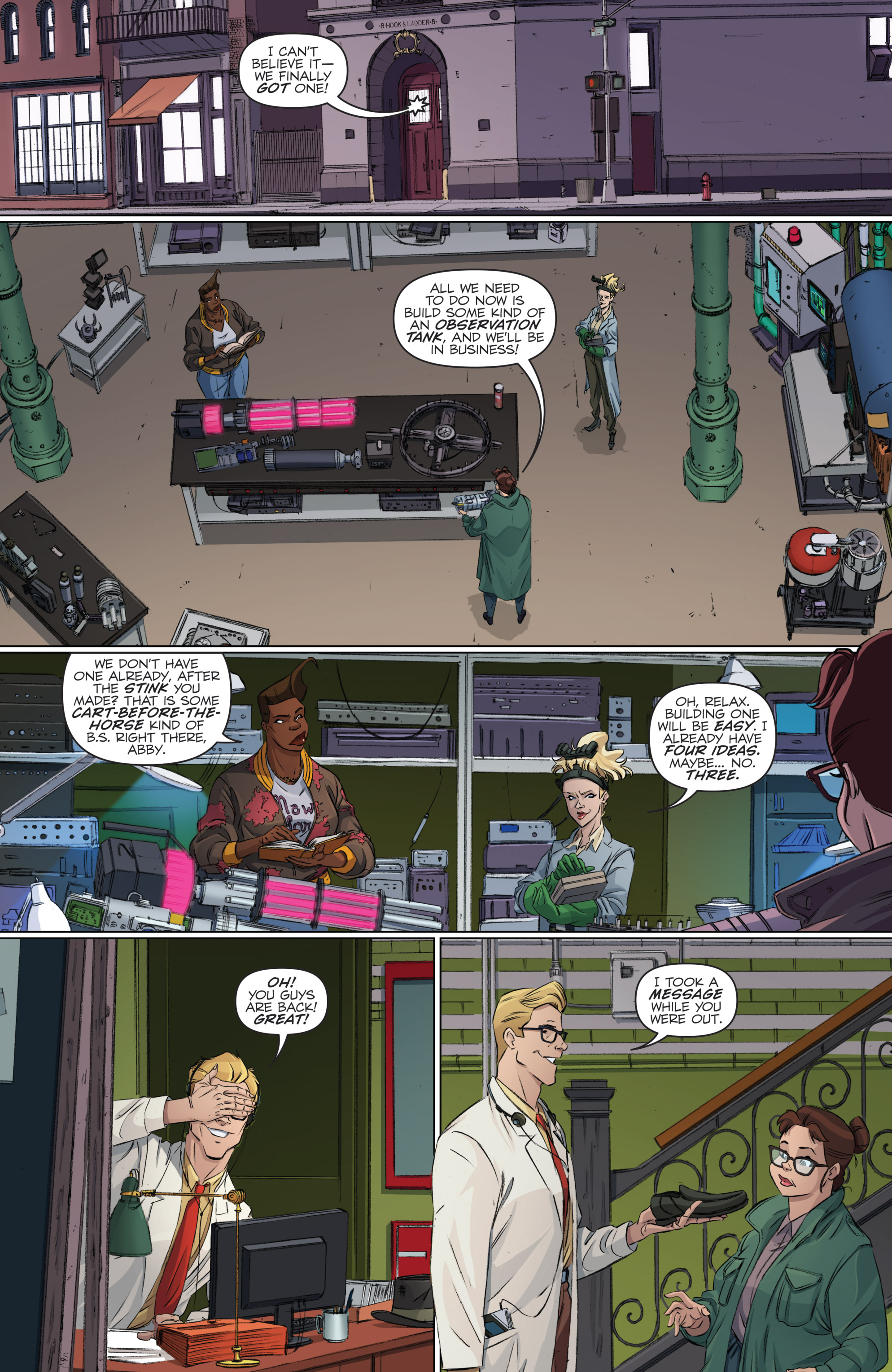 Read online Ghostbusters 101 comic -  Issue #2 - 24