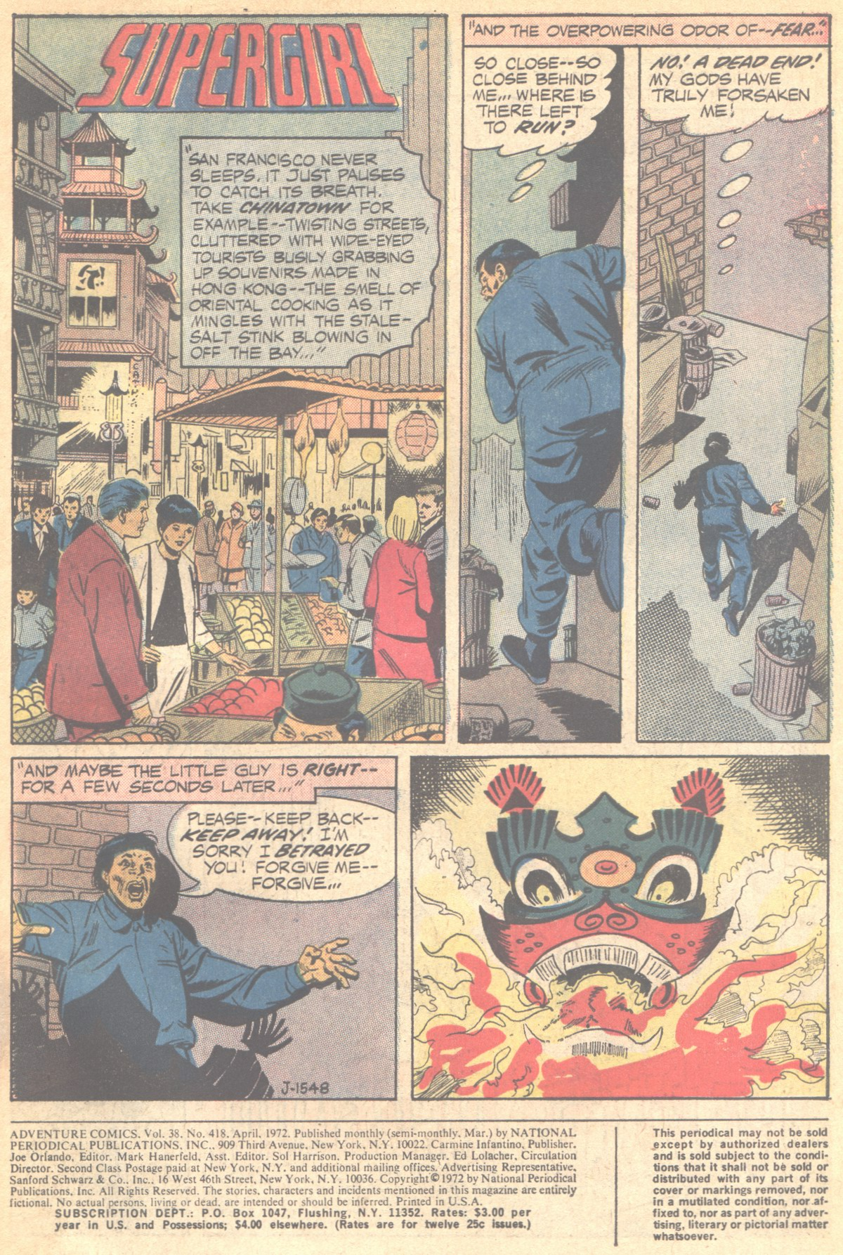 Read online Adventure Comics (1938) comic -  Issue #418 - 3