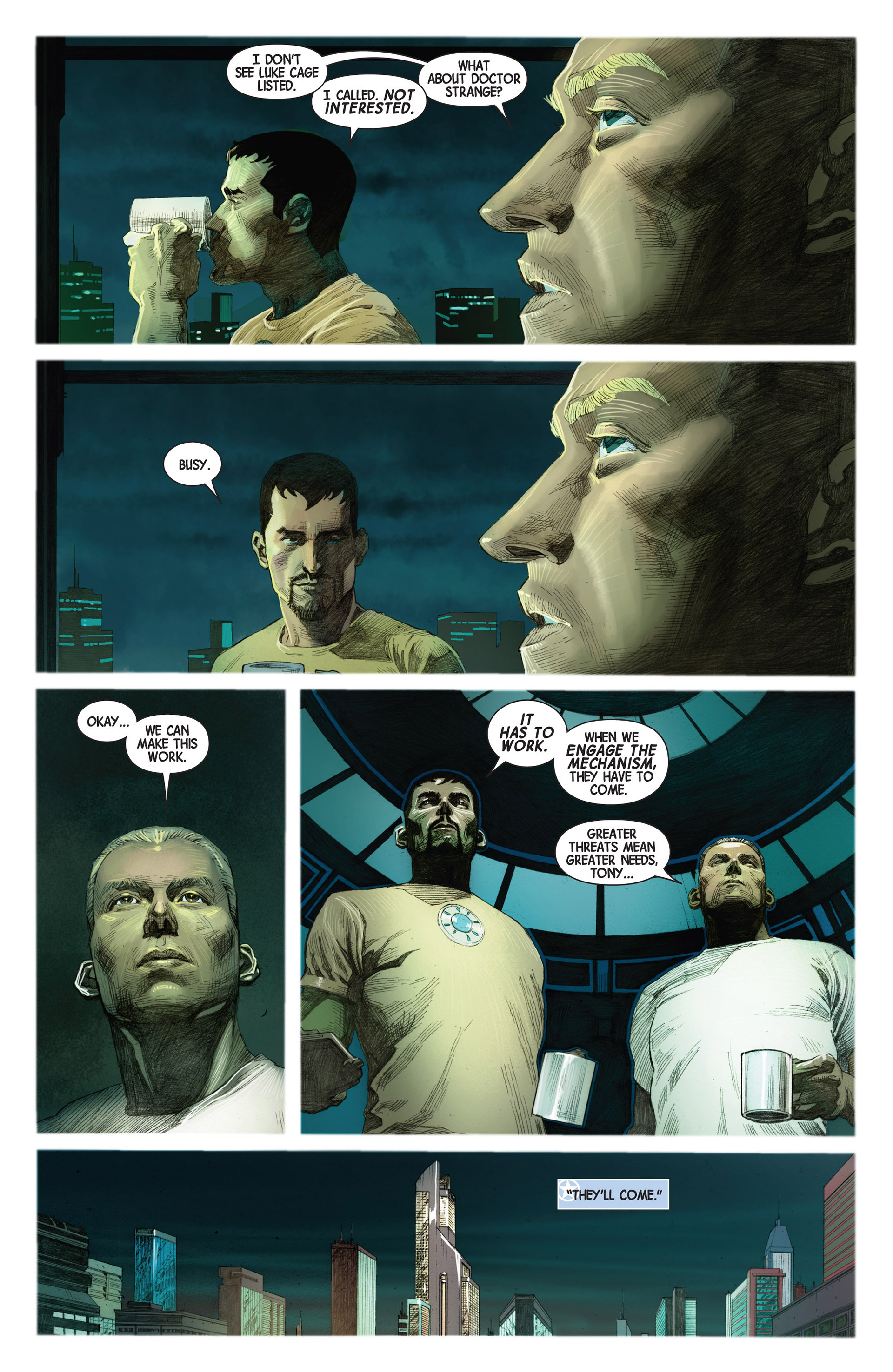 Read online Avengers (2013) comic -  Issue #2 - 12