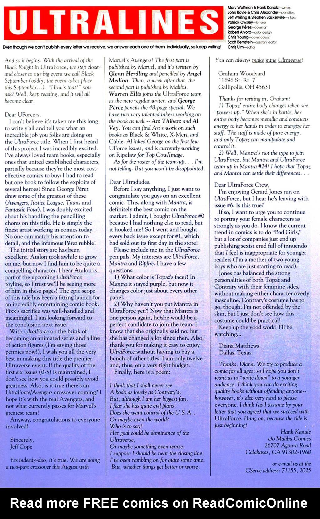 Read online UltraForce (1994) comic -  Issue #9 - 24