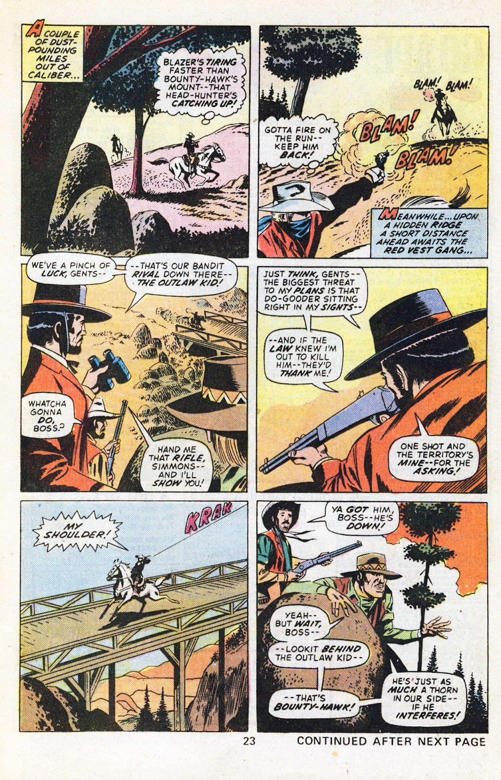 The Outlaw Kid (1970) issue 29 - Page 25
