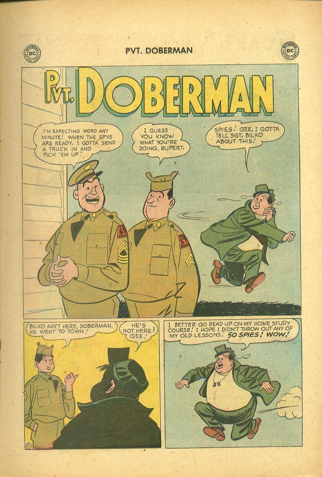 Sgt. Bilko's Pvt. Doberman issue 1 - Page 15