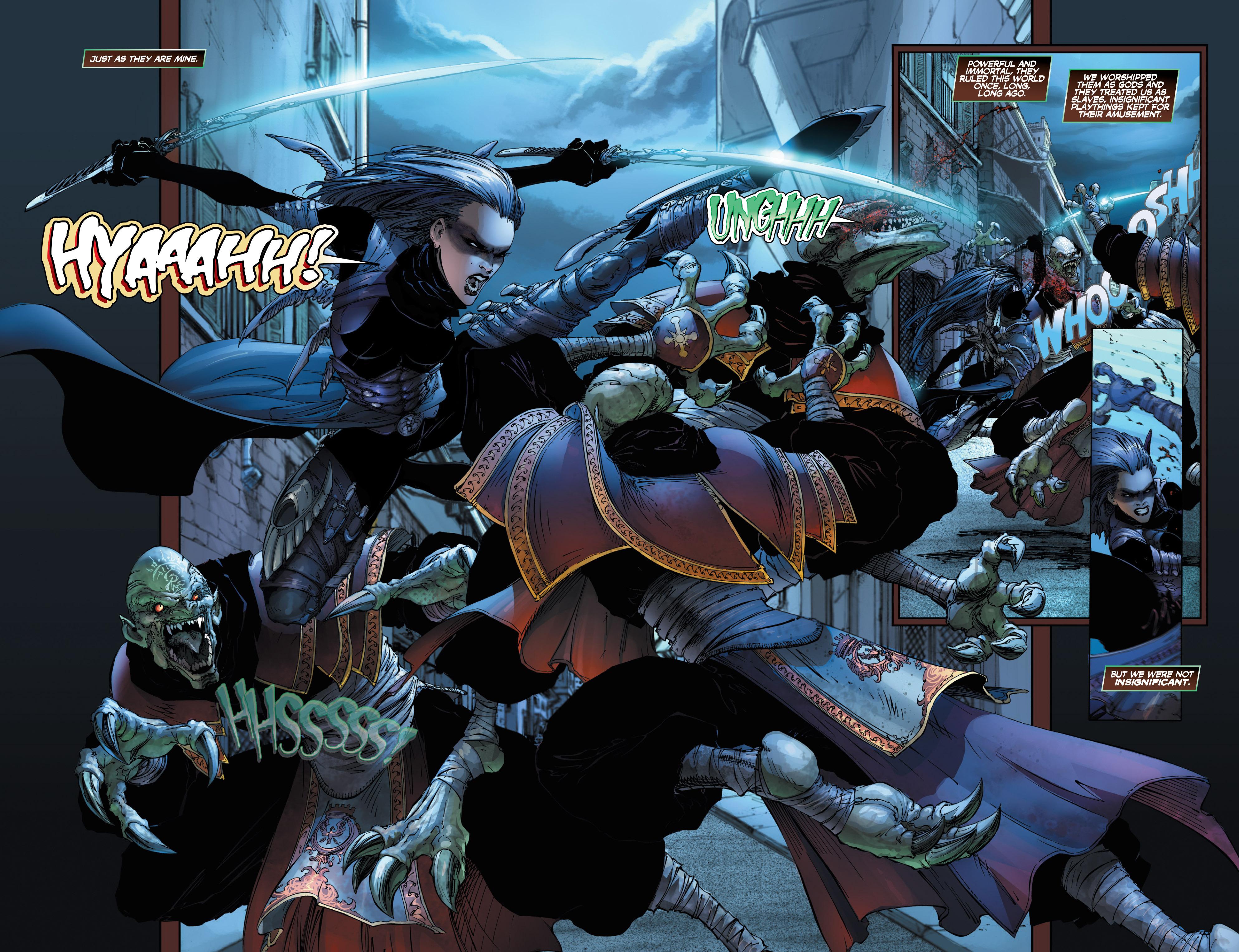 Read online Wraithborn Redux comic -  Issue #1 - 5