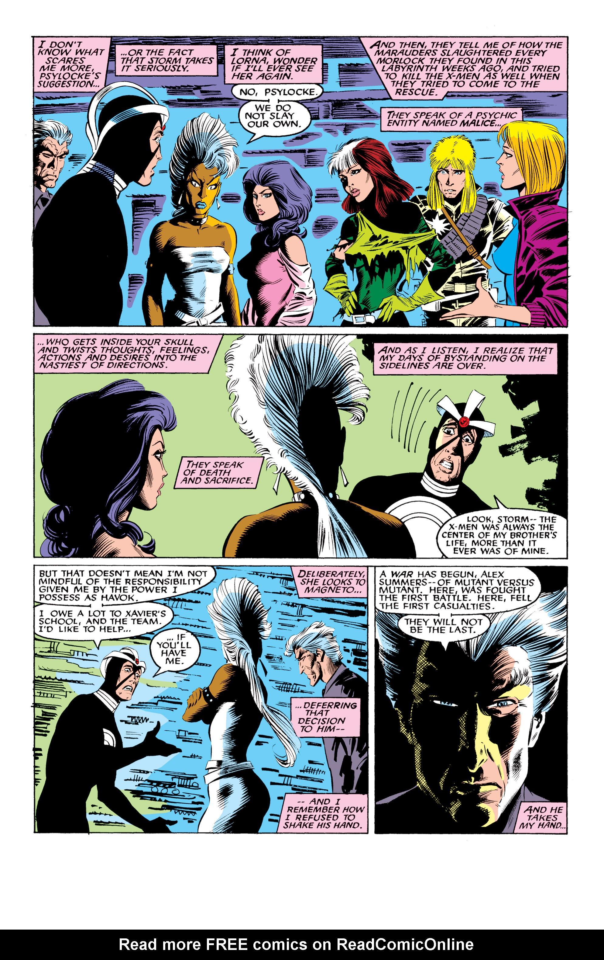 Read online Uncanny X-Men (1963) comic -  Issue #219 - 23
