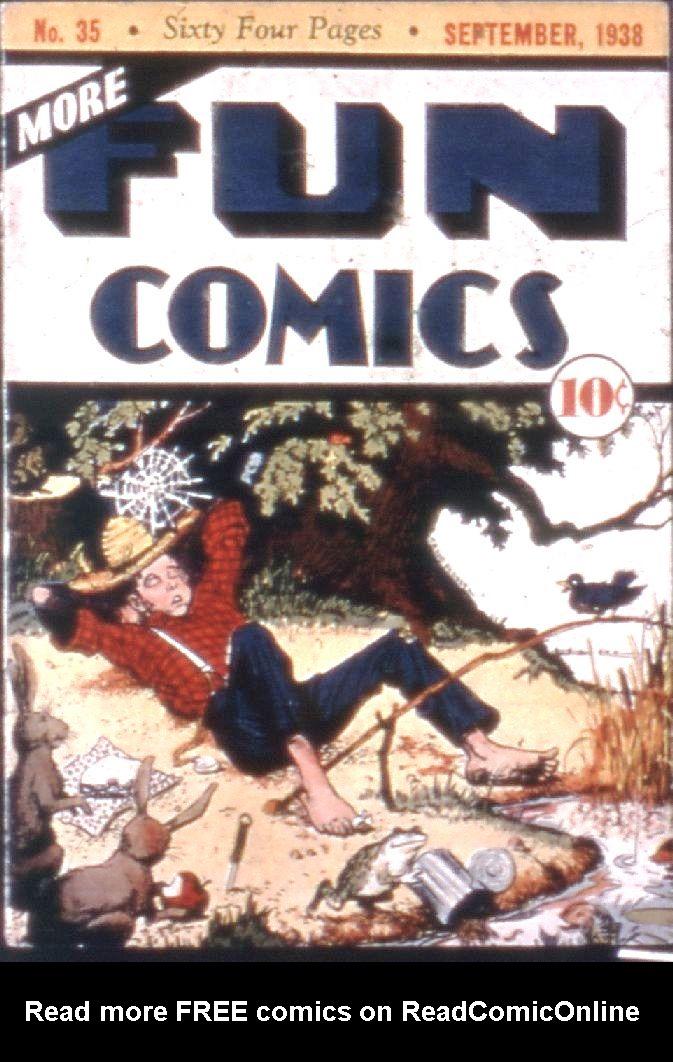 More Fun Comics 35 Page 1