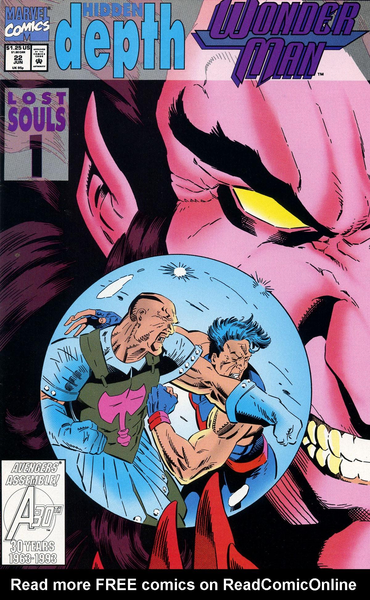Read online Wonder Man (1991) comic -  Issue #22 - 1