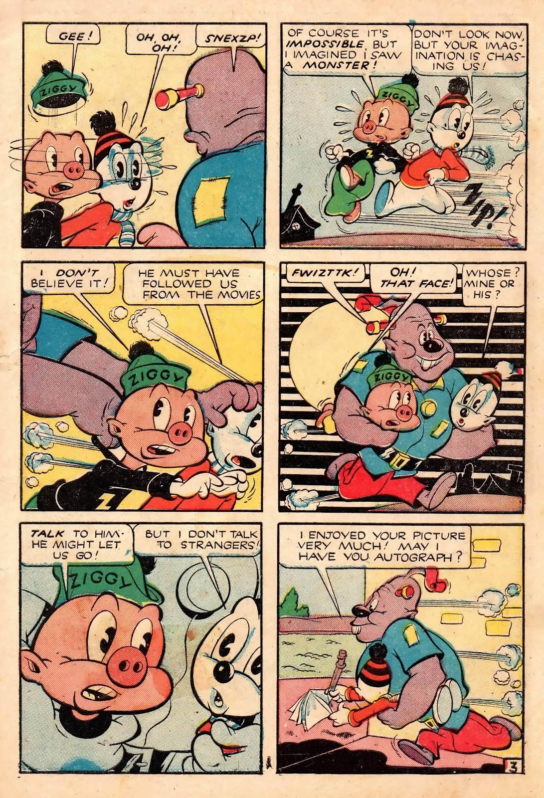 Ziggy Pig-Silly Seal Comics (1944) issue 2 - Page 5