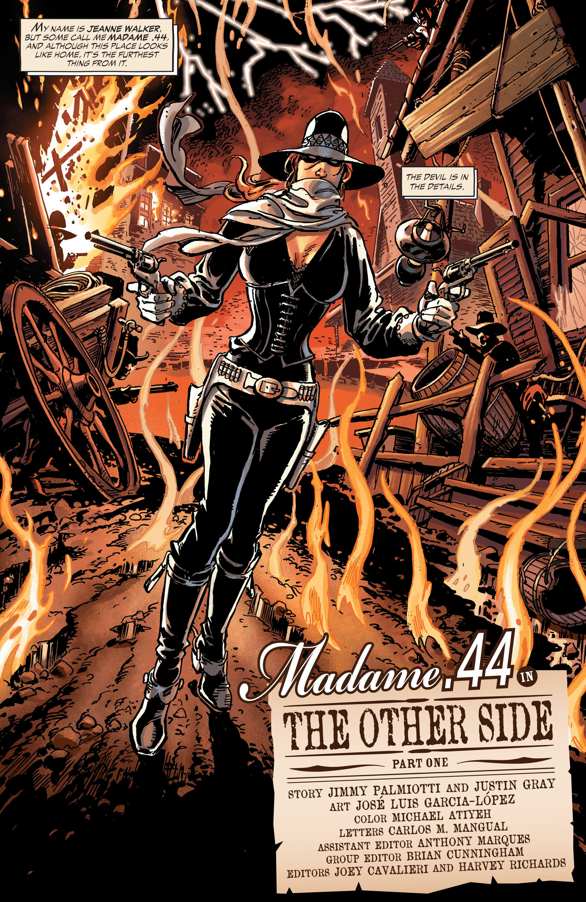 Read online All-Star Western (2011) comic -  Issue #30 - 14