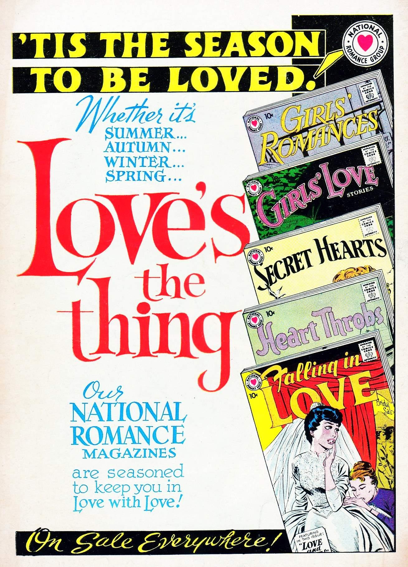 Read online Secret Hearts comic -  Issue #63 - 36