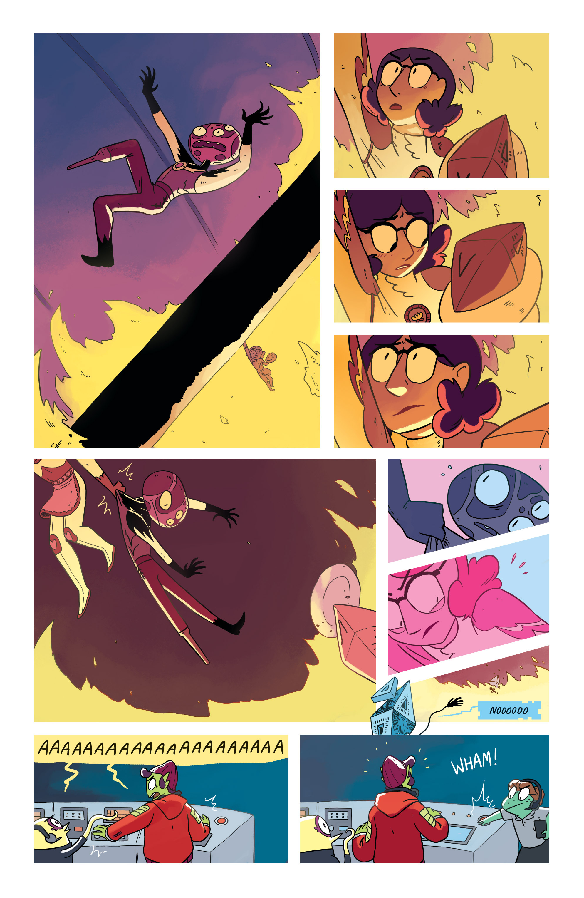 Read online Space Battle Lunchtime comic -  Issue #8 - 15