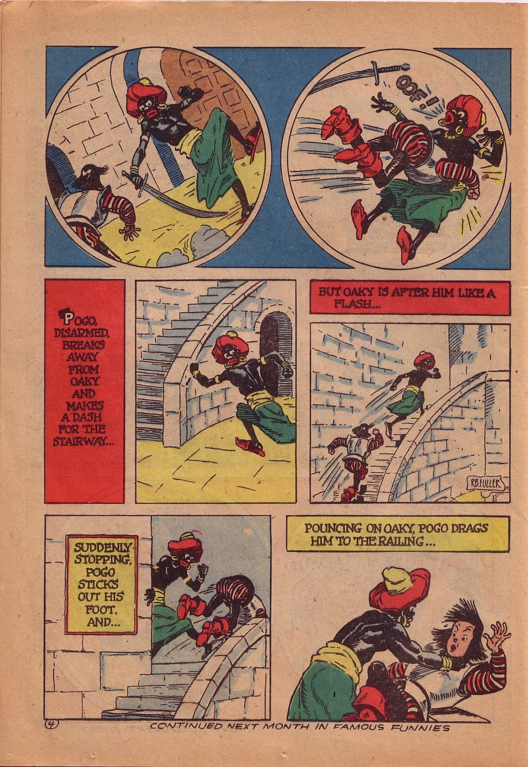 Read online Famous Funnies comic -  Issue #107 - 39