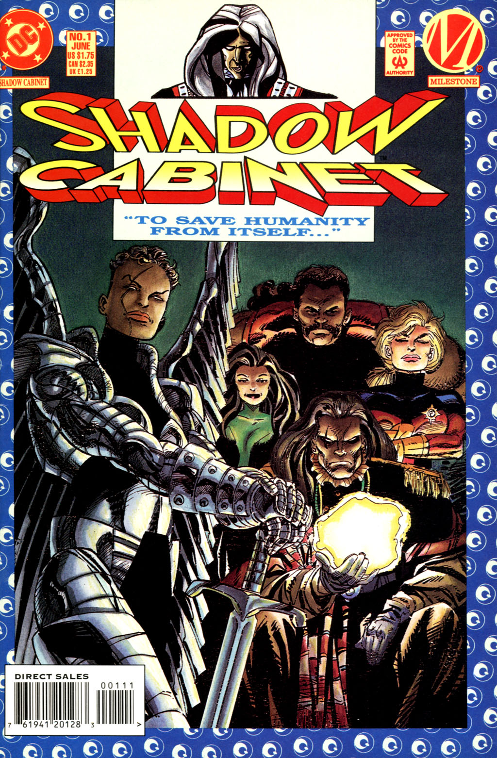 Read online Shadow Cabinet comic -  Issue #1 - 1