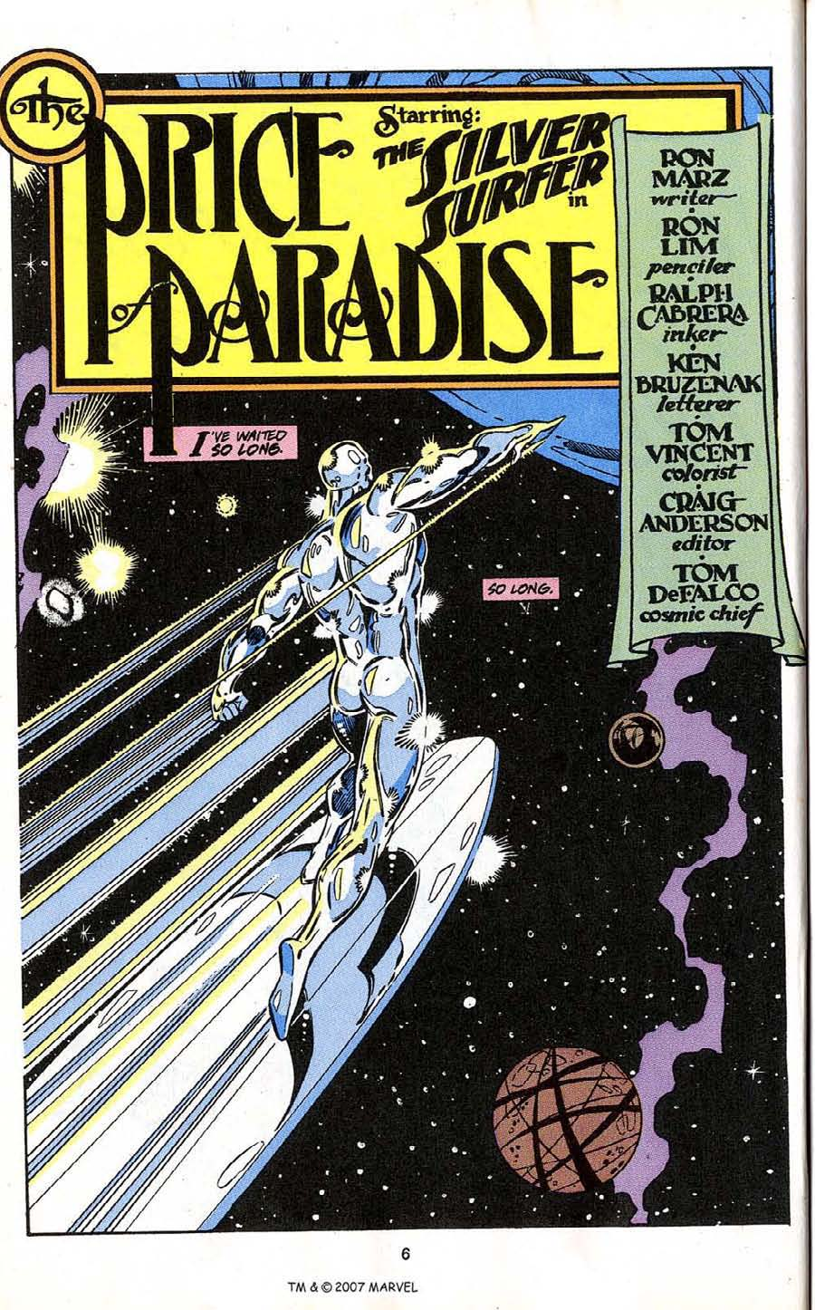 Read online Silver Surfer (1987) comic -  Issue # _Annual 4 - 8