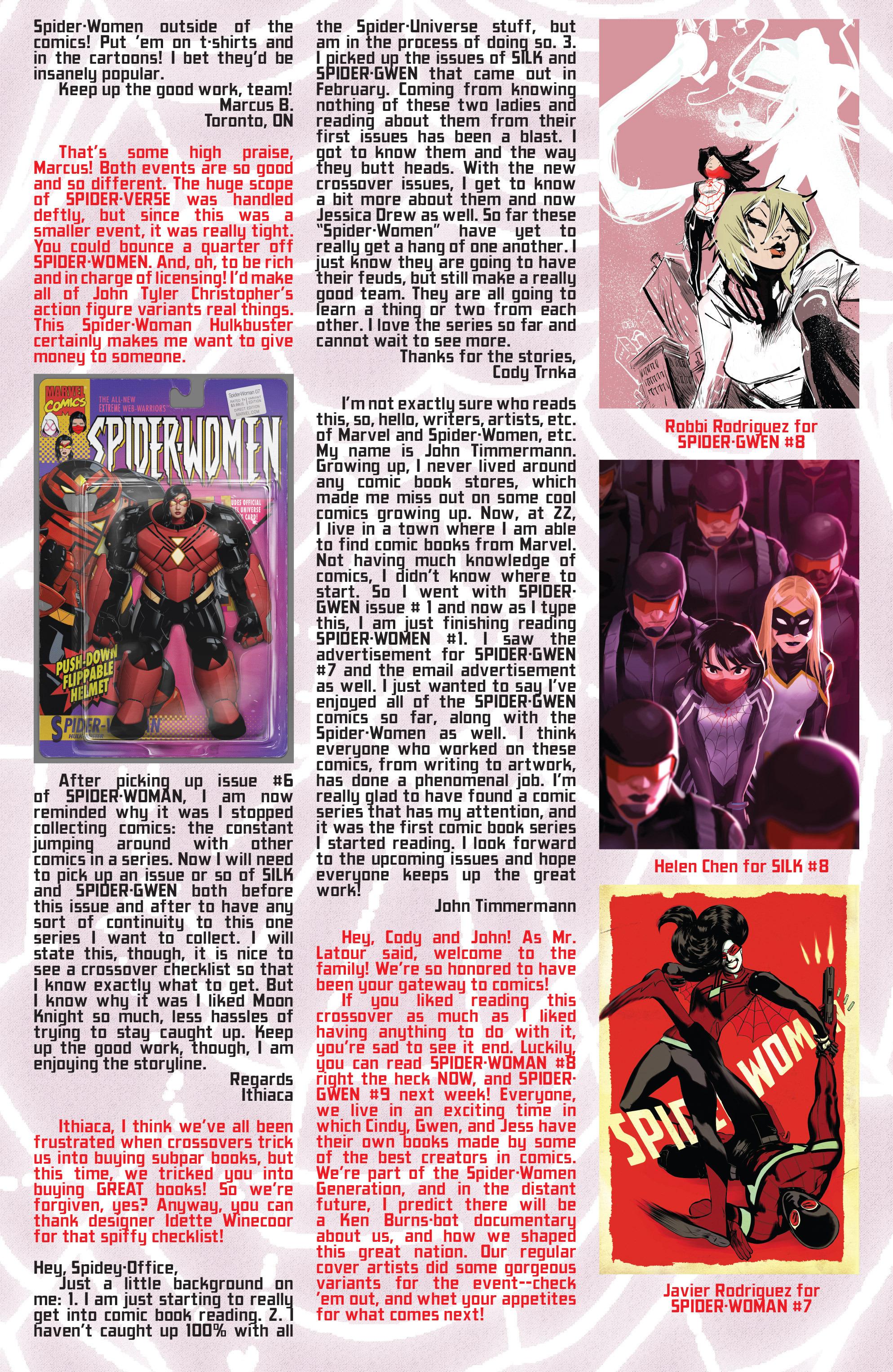 Read online Spider-Women Omega comic -  Issue # Full - 35