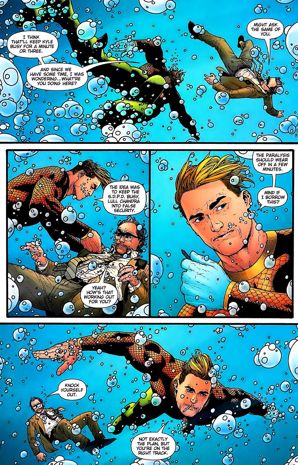 Read online Aquaman (2003) comic -  Issue #31 - 19