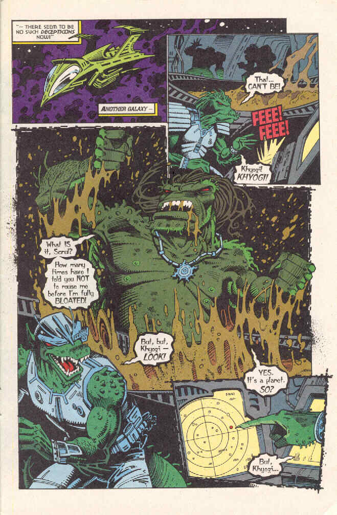 Read online Transformers: Generation 2 comic -  Issue #3 - 20