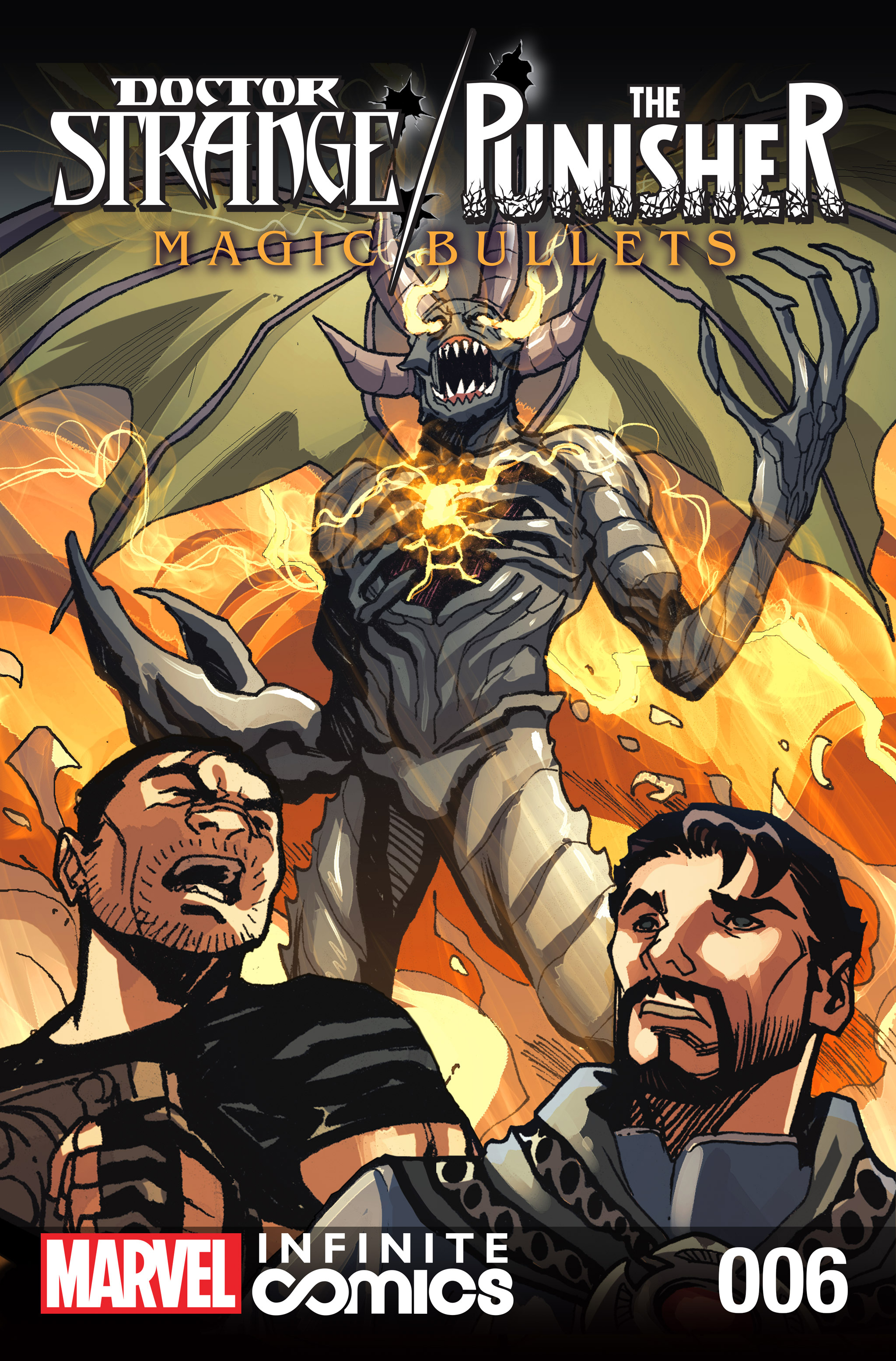 Doctor Strange/Punisher: Magic Bullets Infinite Comic 6 Page 1