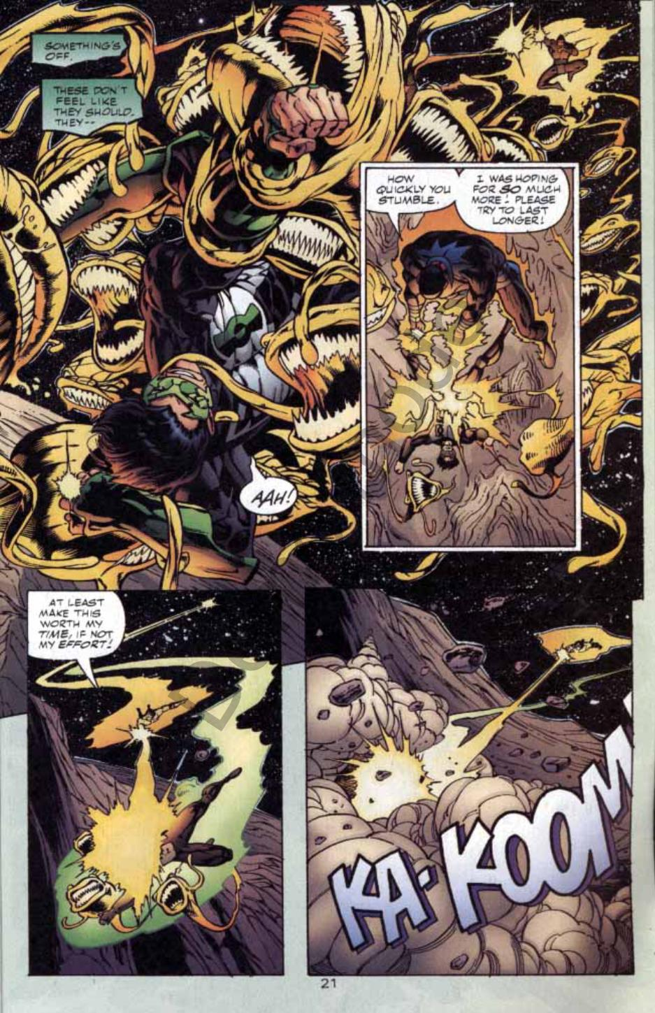 Read online Green Lantern: Our Worlds At War comic -  Issue # Full - 20