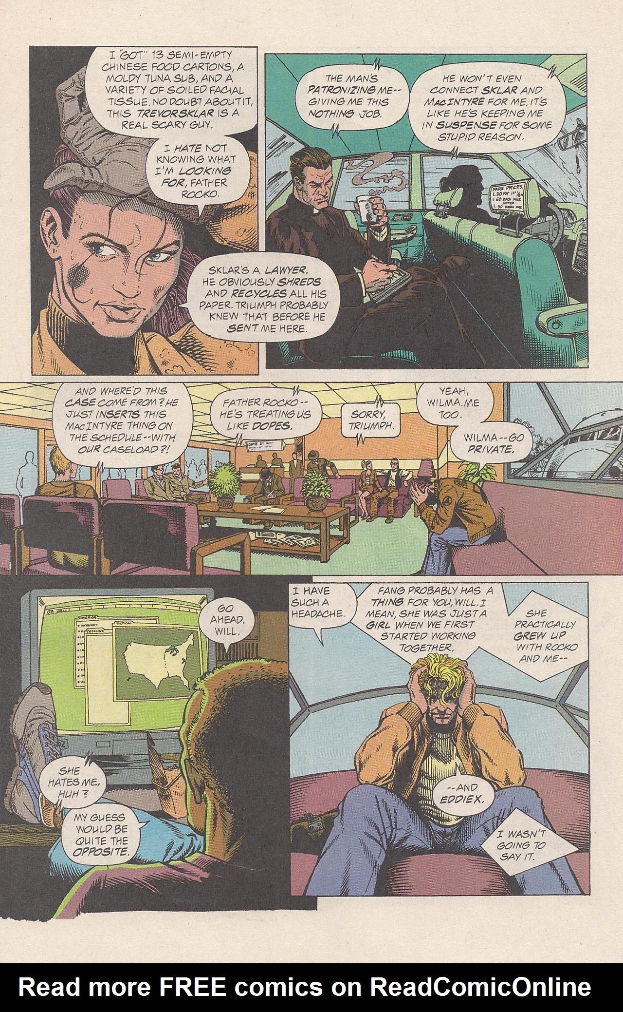 Read online Triumph comic -  Issue #2 - 19