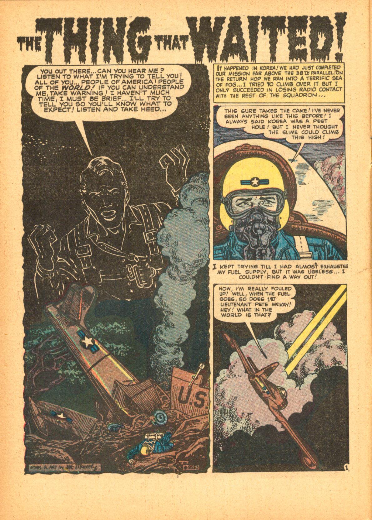 Read online Adventures into Weird Worlds comic -  Issue #3 - 10