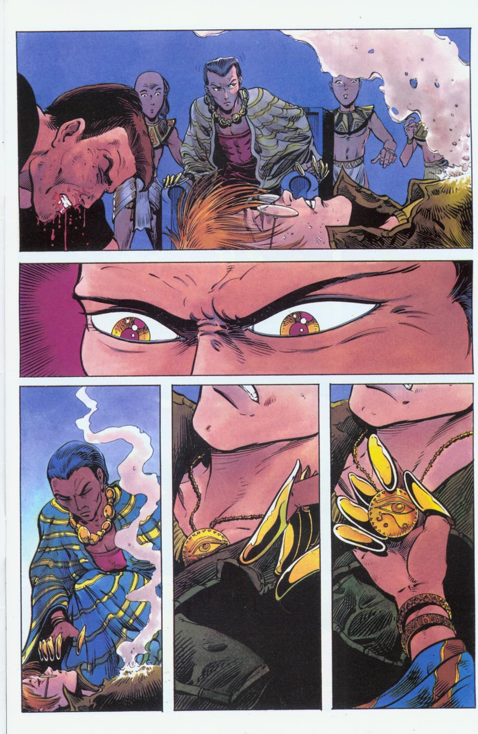 Read online Stargate comic -  Issue #3 - 7