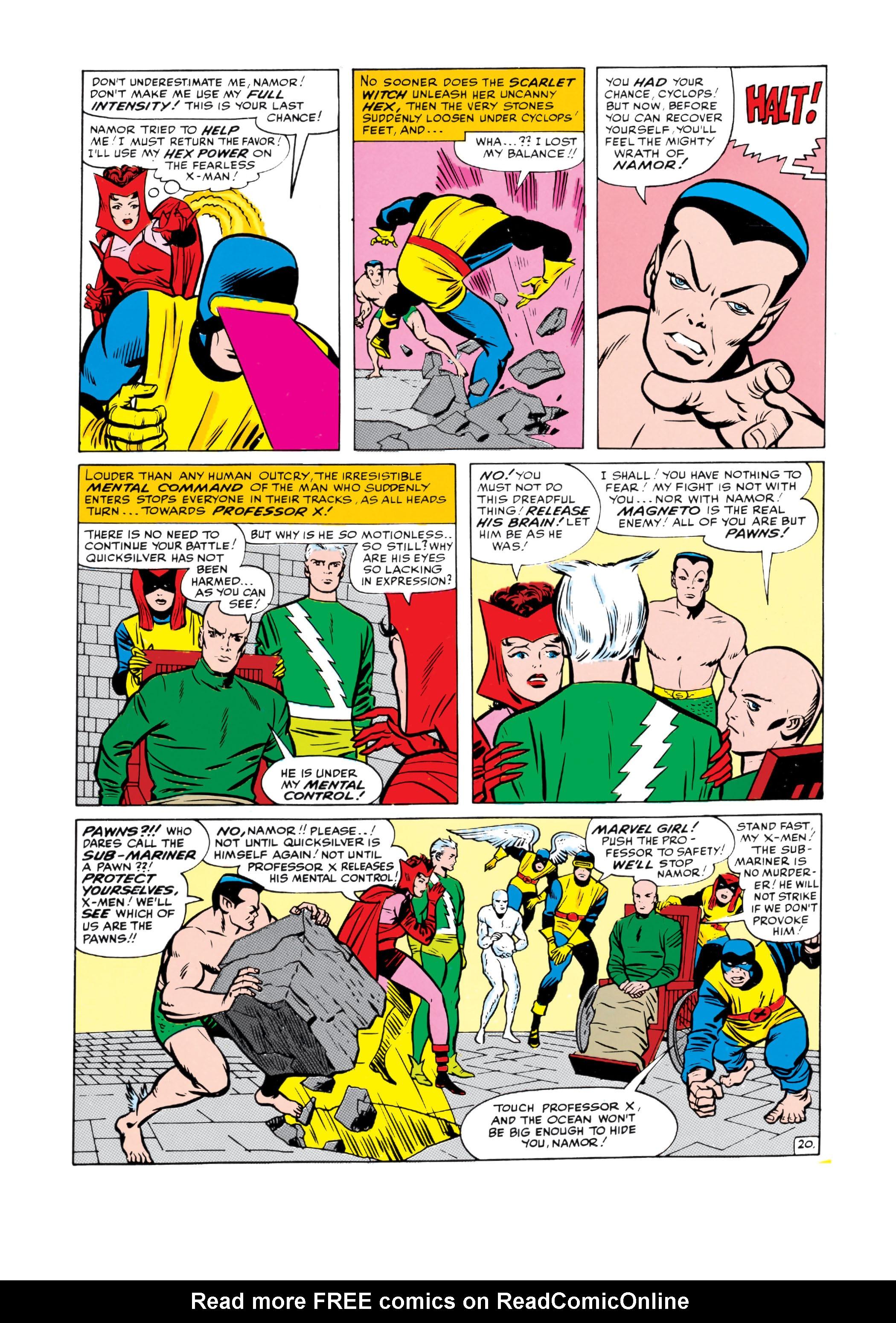 Uncanny X-Men (1963) 6 Page 20