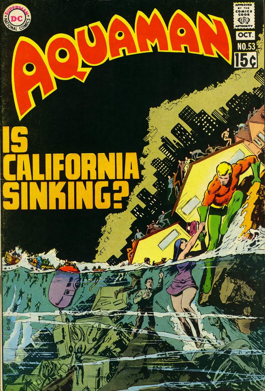 Aquaman (1962) issue 53 - Page 1