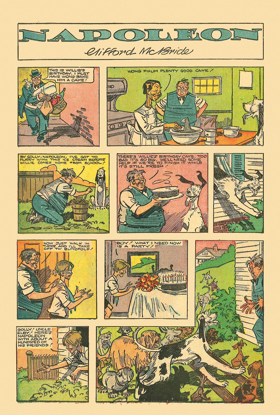 Read online Famous Funnies comic -  Issue #181 - 36
