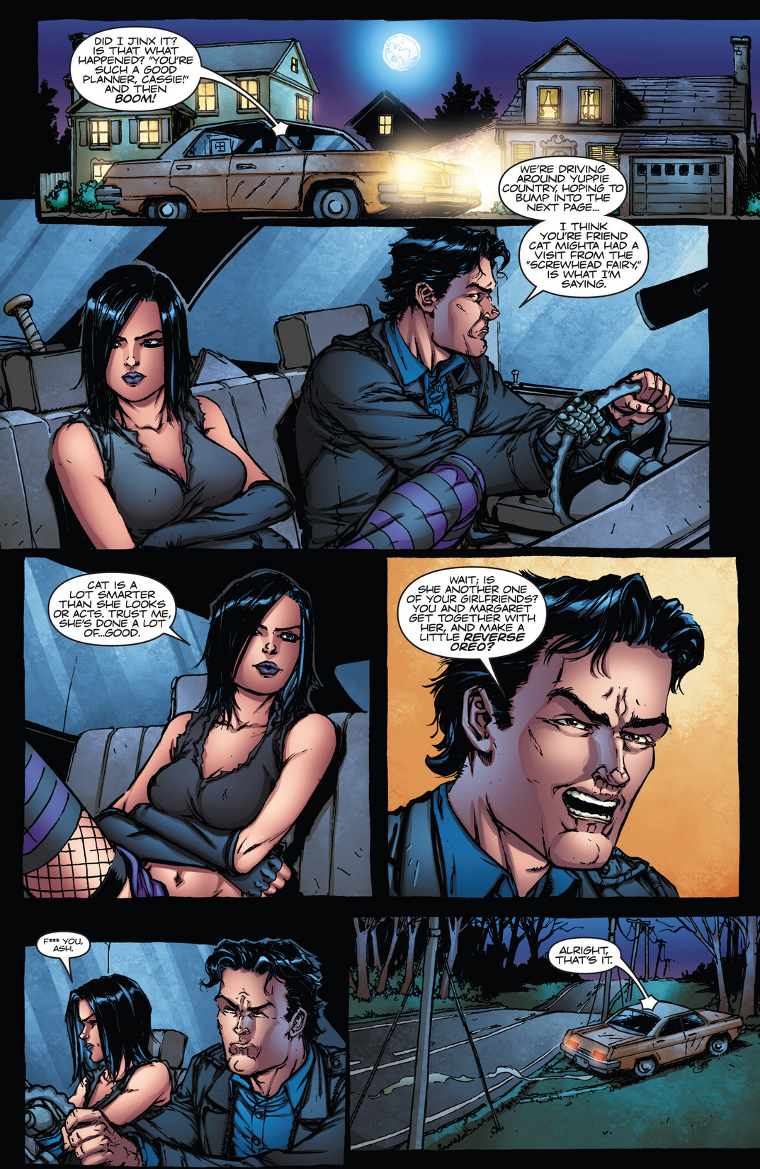 Read online Army of Darkness vs. Hack/Slash comic -  Issue #4 - 9