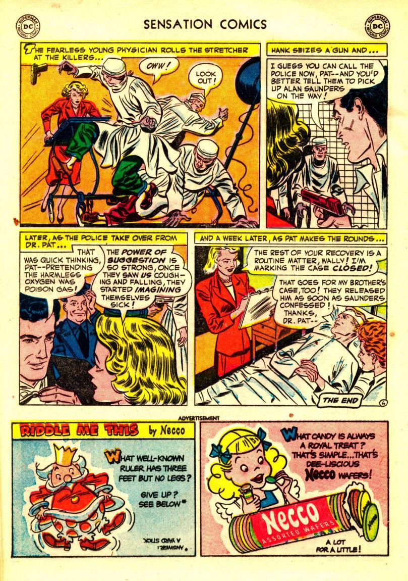 Read online Sensation (Mystery) Comics comic -  Issue #106 - 20