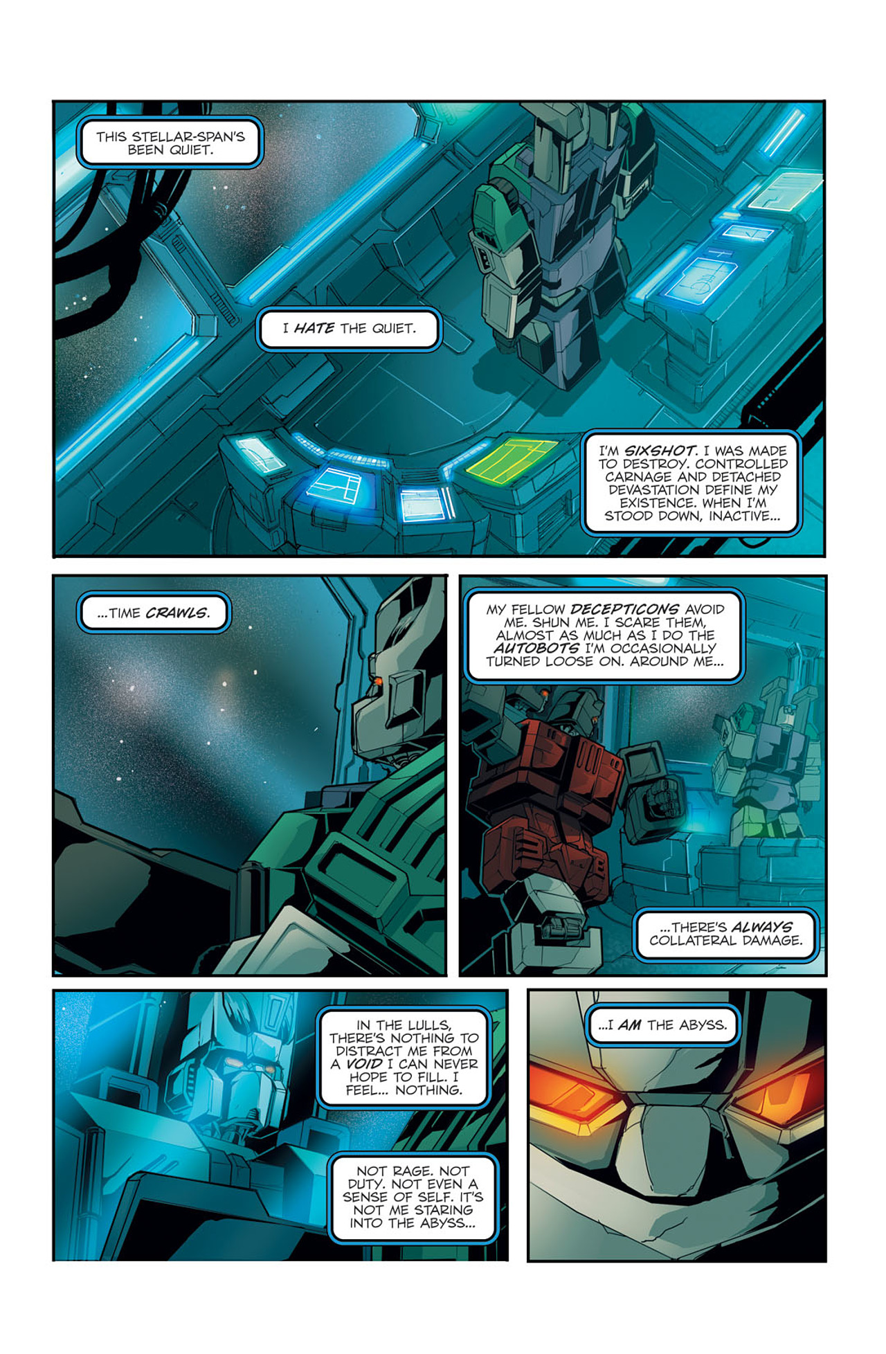 Read online Transformers Spotlight: Sixshot comic -  Issue # Full - 6