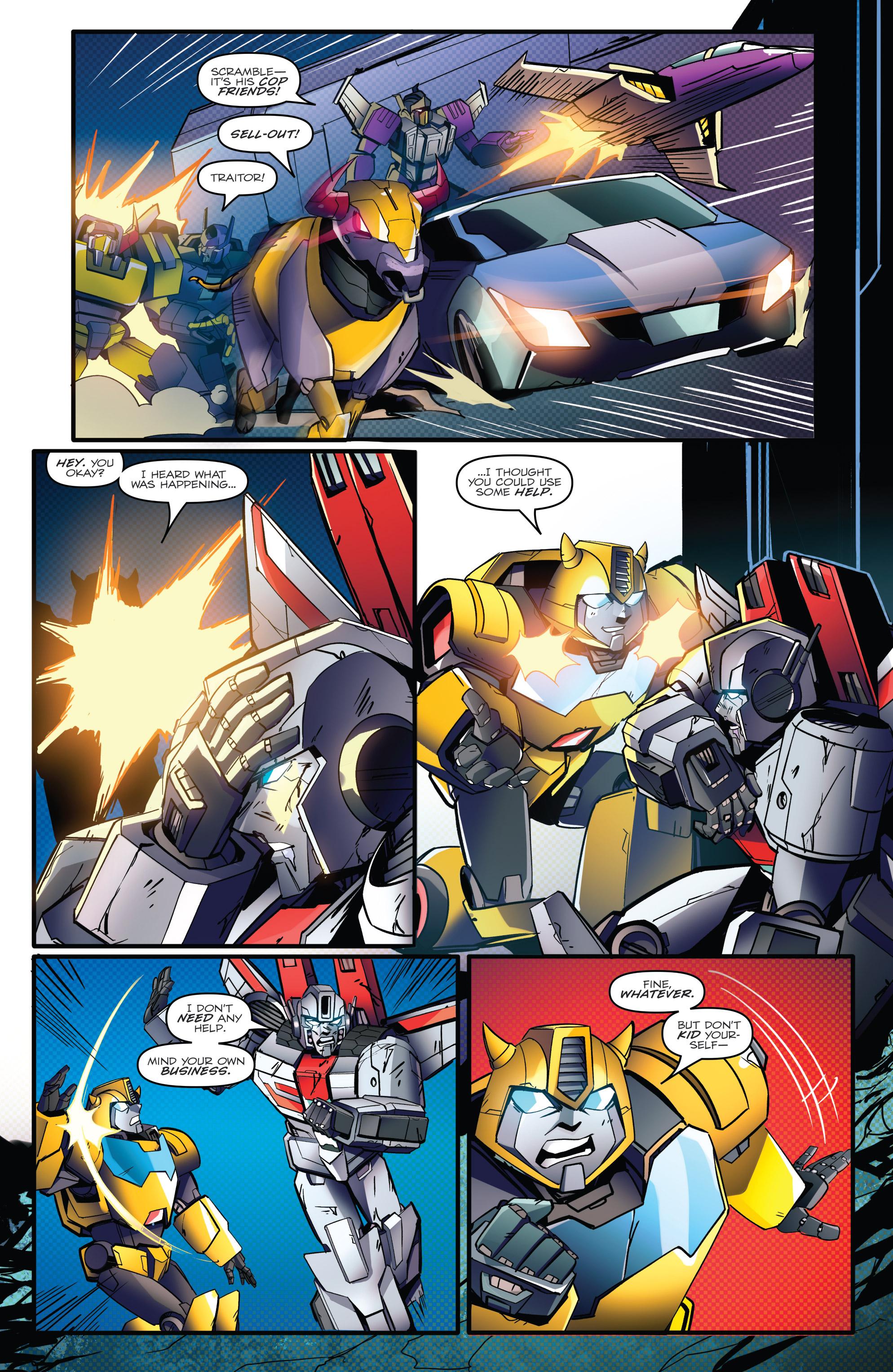 Read online Optimus Prime comic -  Issue #7 - 19