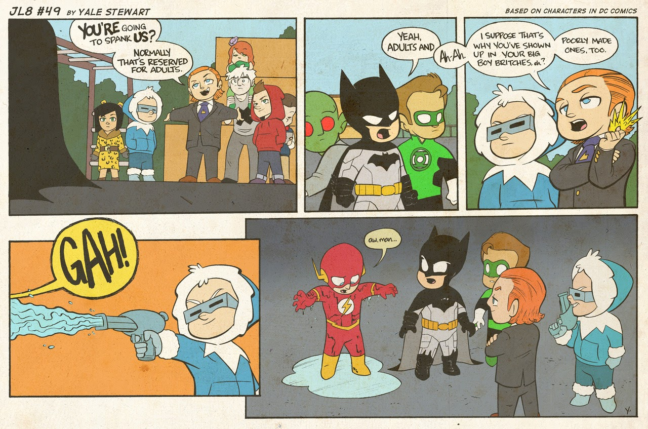Read online JL8 – The Complete Collection comic -  Issue # TPB (Part 1) - 20