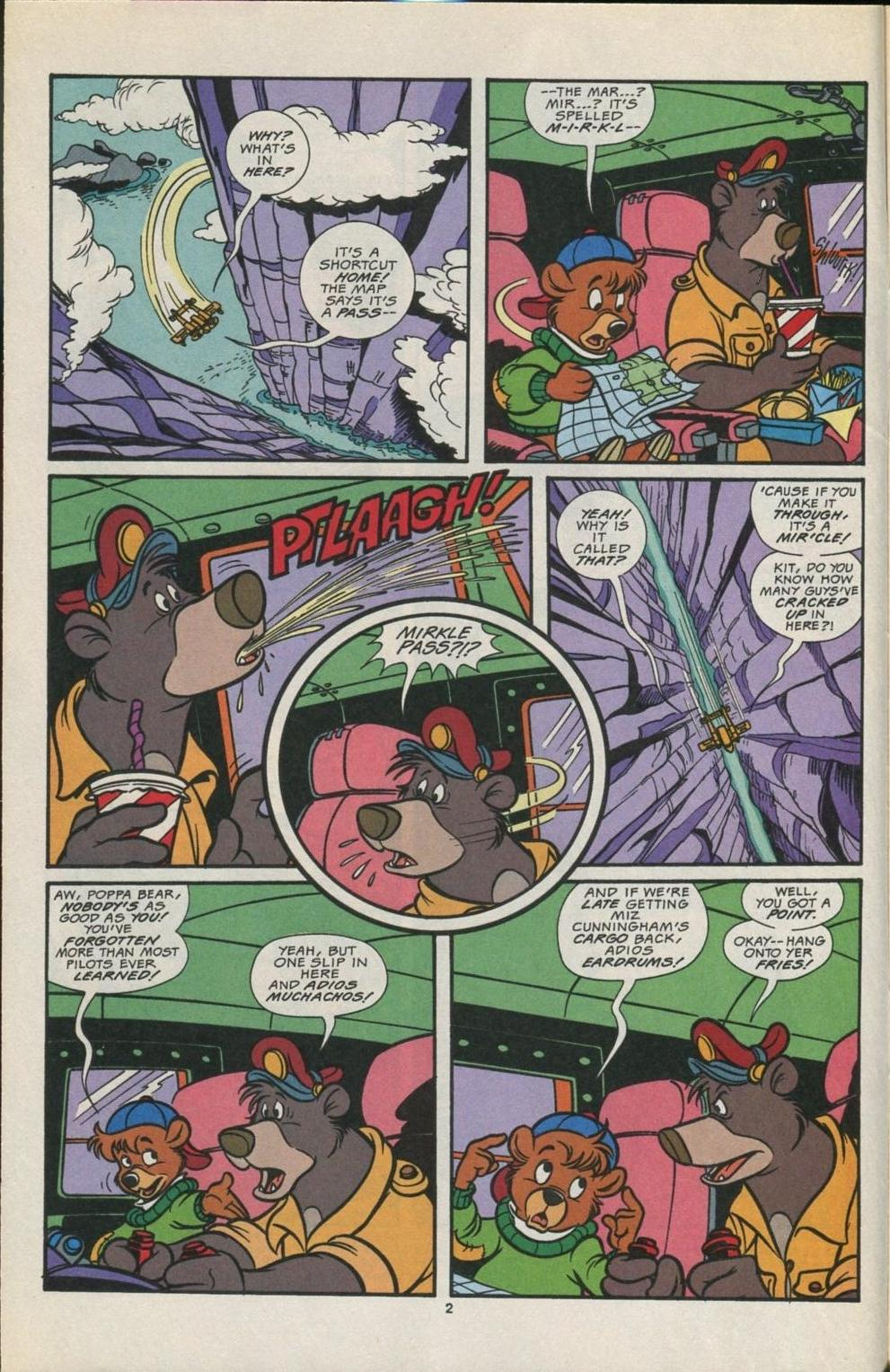 Read online Disney's Tale Spin comic -  Issue #5 - 3