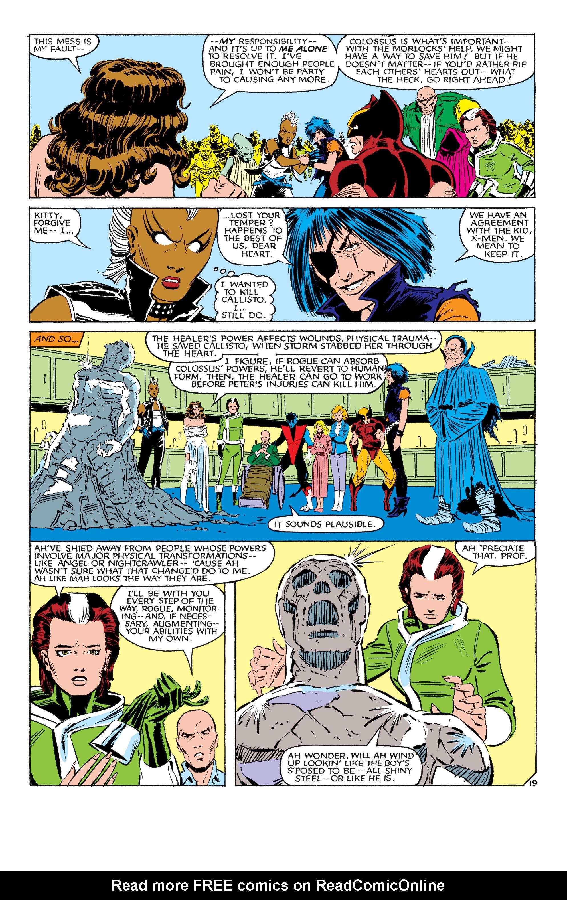 Read online Uncanny X-Men (1963) comic -  Issue #179 - 20