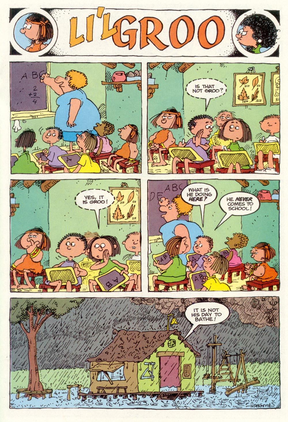 Read online Sergio Aragonés Groo the Wanderer comic -  Issue #102 - 29