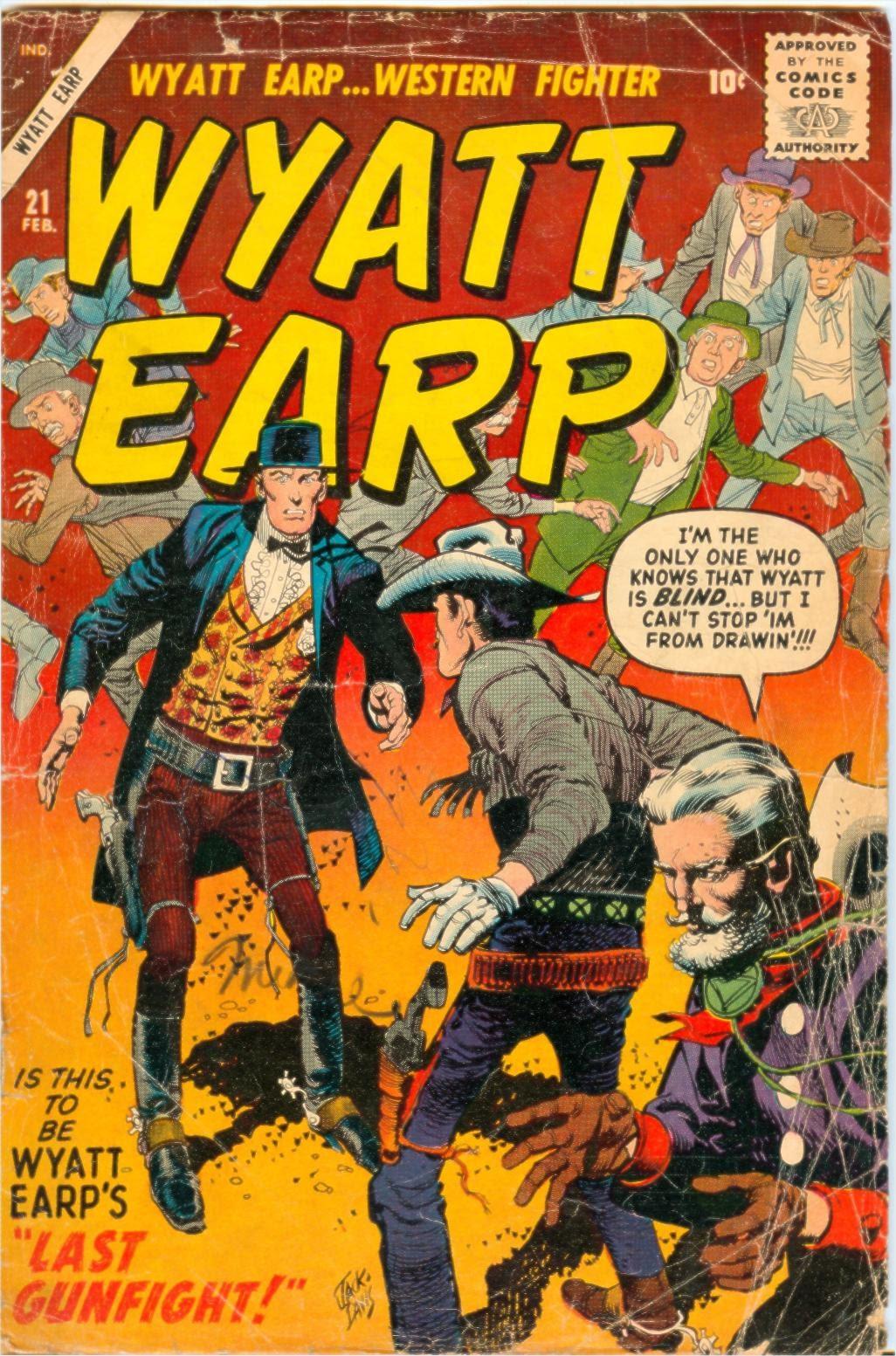 Wyatt Earp issue 21 - Page 1