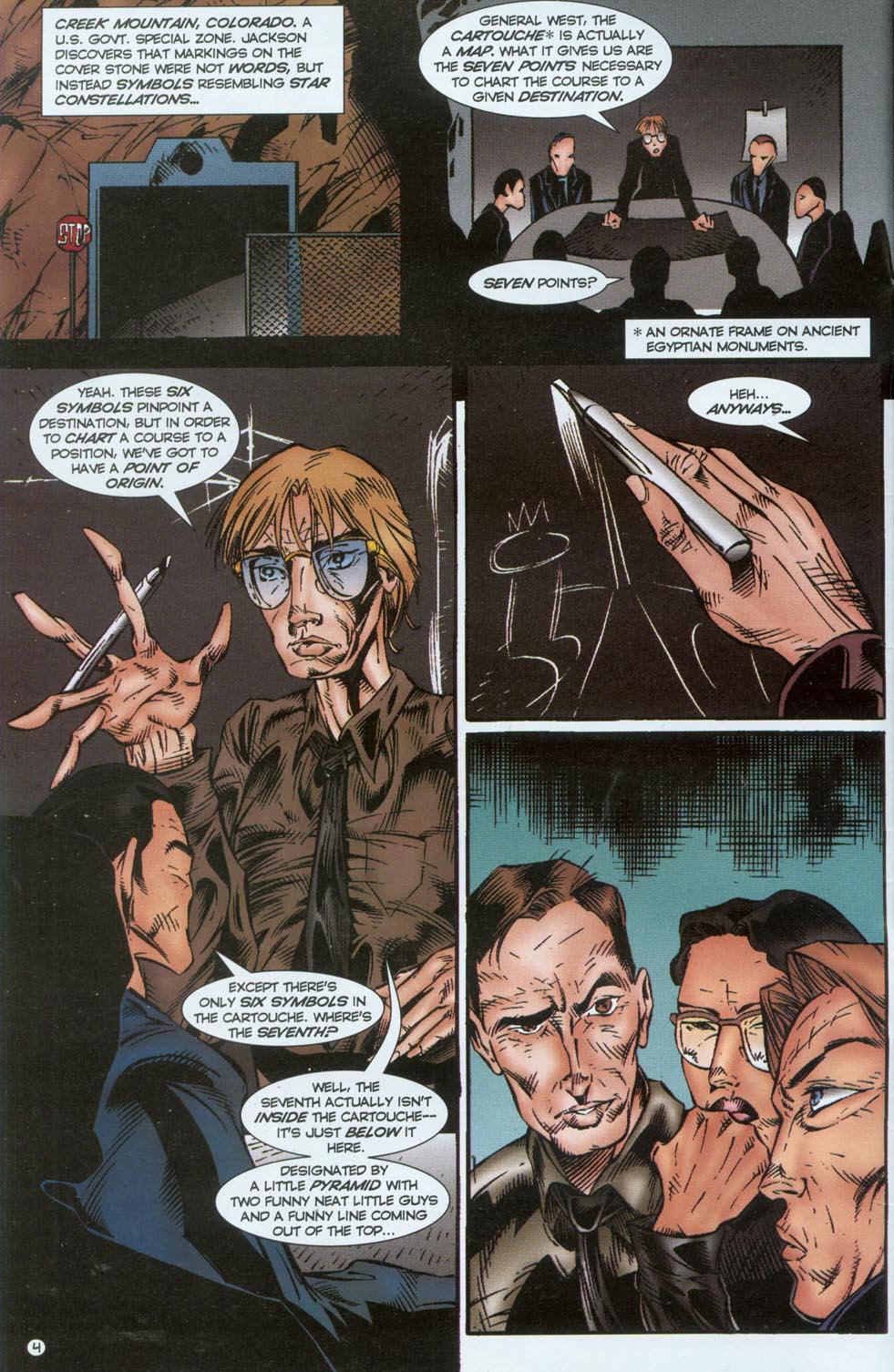 Read online Stargate comic -  Issue #1 - 6