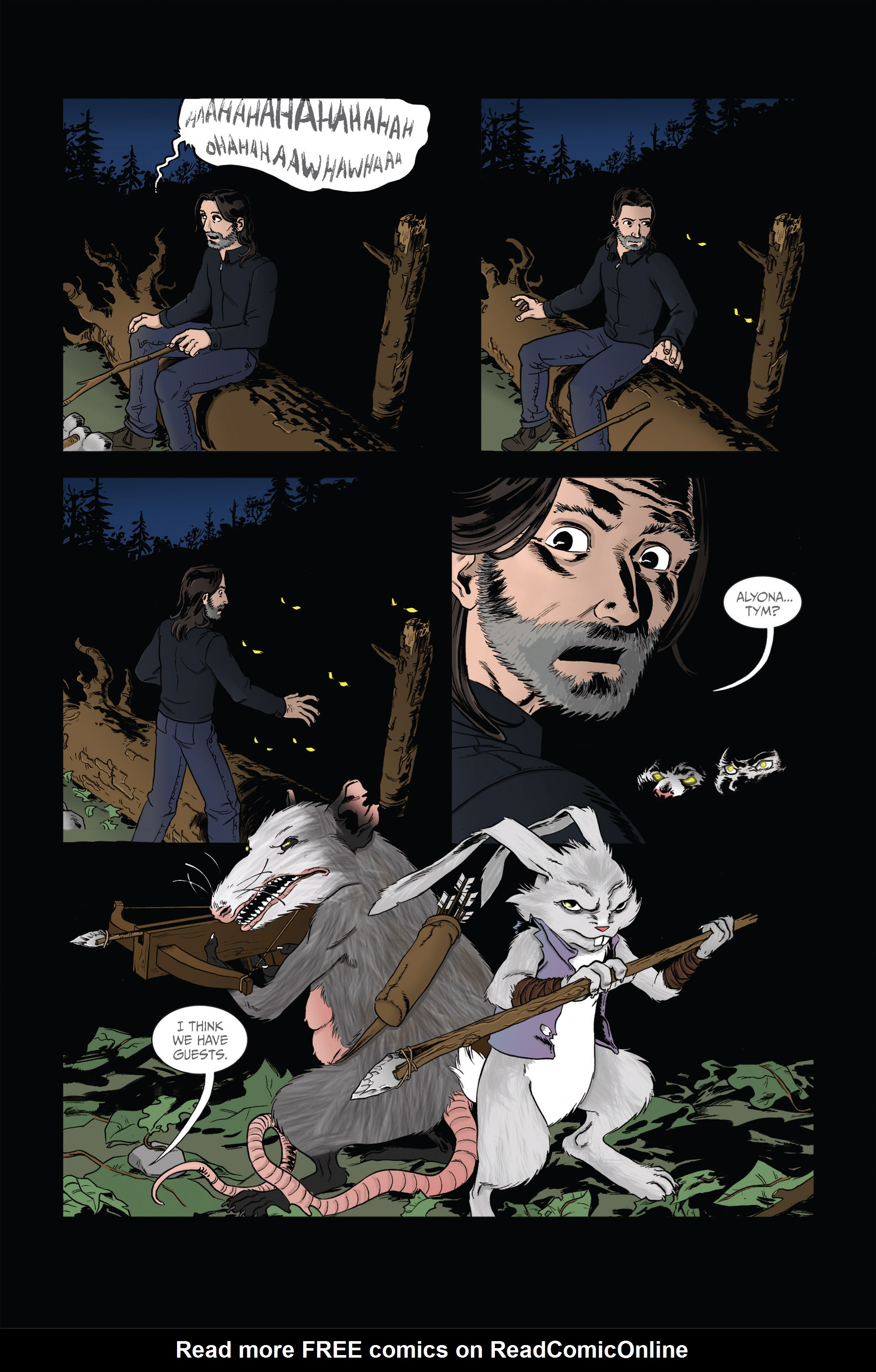 Read online Ehmm Theory: Everything & Small Doses comic -  Issue #2 - 17