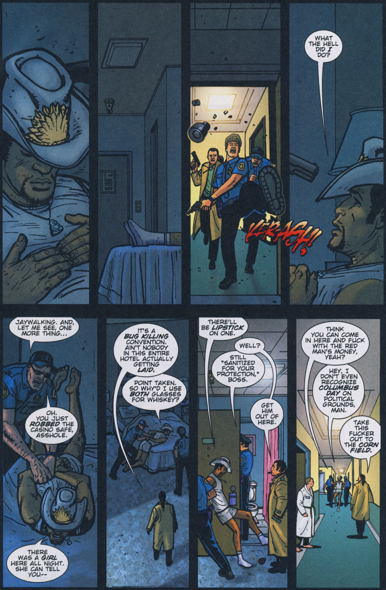 Read online The Exterminators comic -  Issue #17 - 23