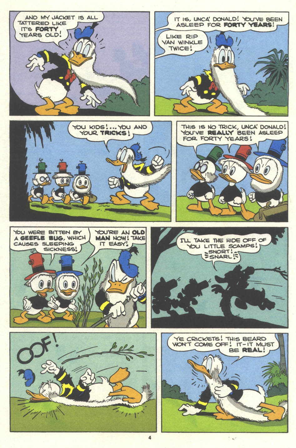 Walt Disney's Comics and Stories issue 554 - Page 6