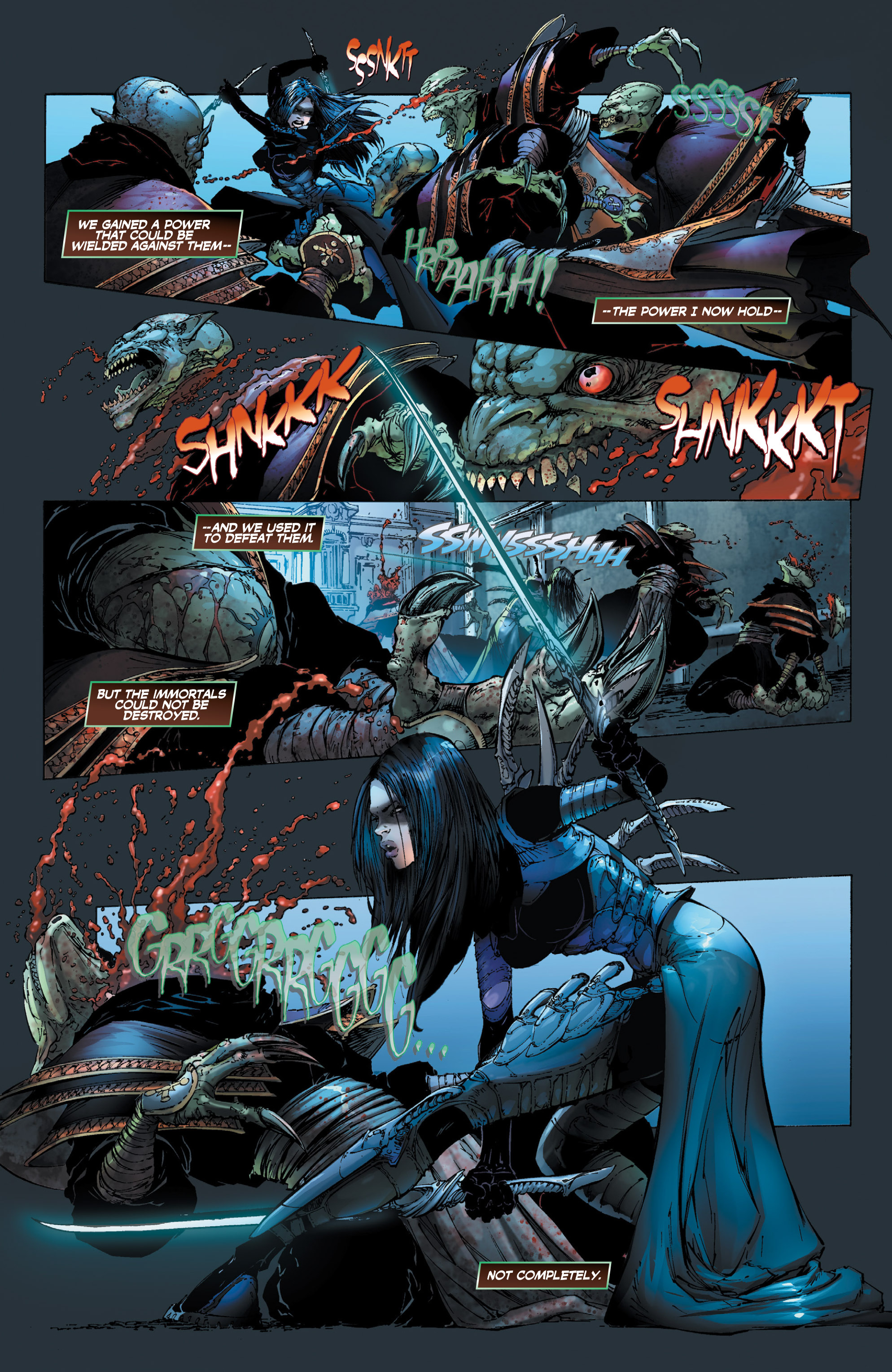Read online Wraithborn Redux comic -  Issue #1 - 6