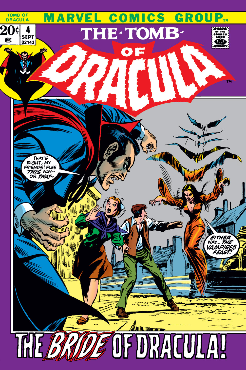 Tomb of Dracula (1972) issue 4 - Page 1