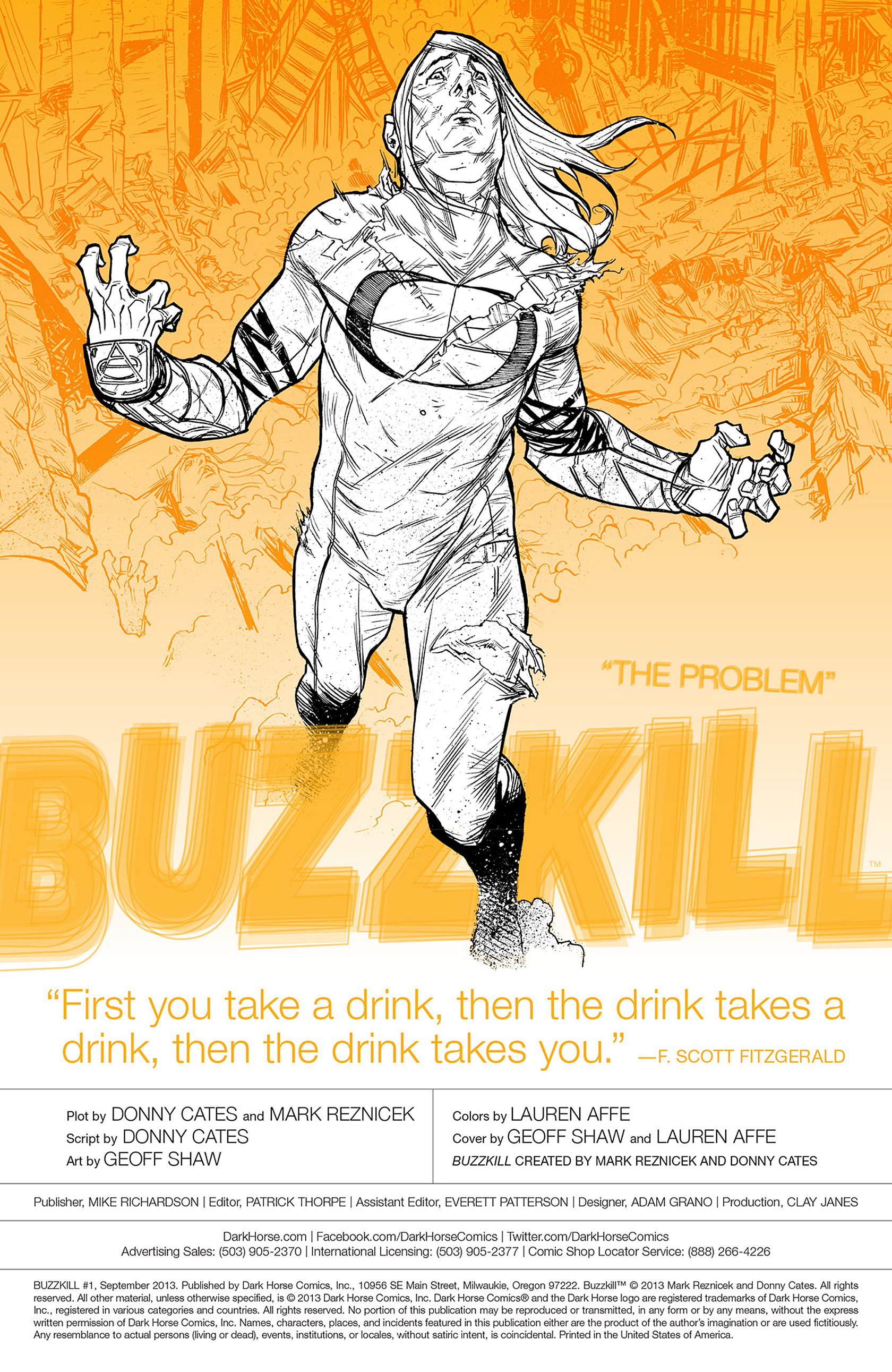 Read online Buzzkill comic -  Issue #1 - 2
